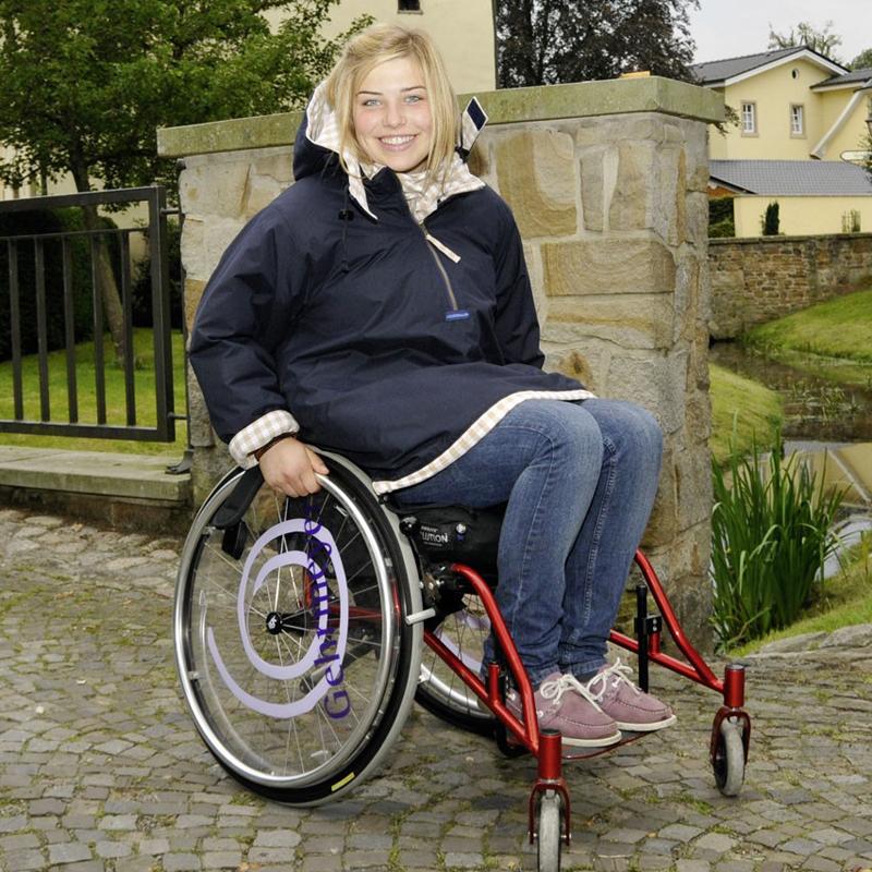 специальная одежда для людей в инвалидных колясках